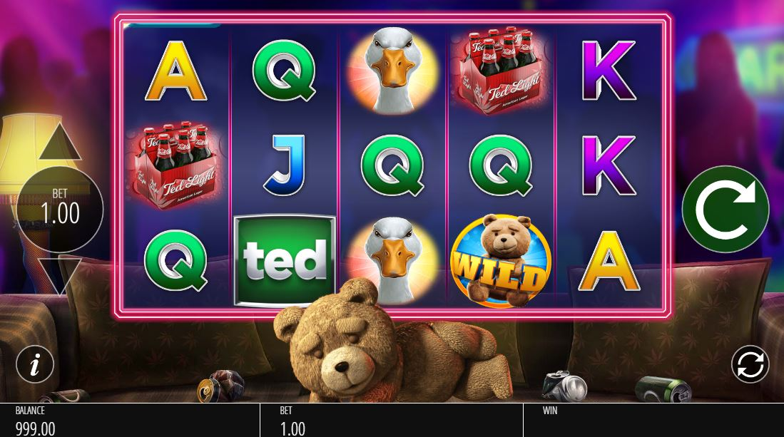Casino odds online TED 92024